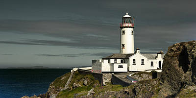Fanad Head Lighthouse Poster by Jane McIlroy