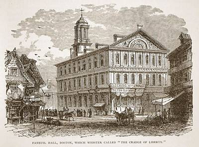 Faneuil Hall, Boston, Which Webster Poster
