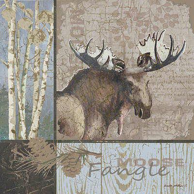 Fangle Poster by Anita Phillips