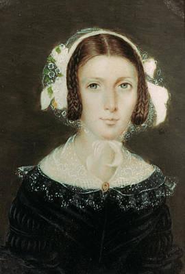 Fanny Brawne (1800-1865) Poster by Granger