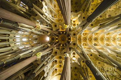 Fantabulous Sagrada Ceiling Poster