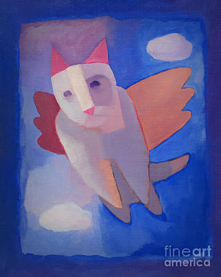 Fantasy Cat Poster by Lutz Baar