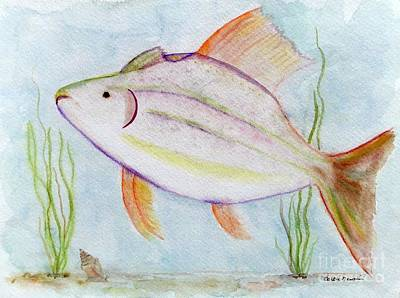 Fantasy Fish Poster by Barbie Corbett-Newmin