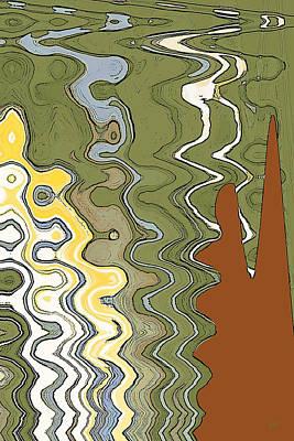 Fantasy Landscape Poster by Ben and Raisa Gertsberg