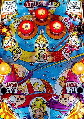 Far Out Playfield Poster