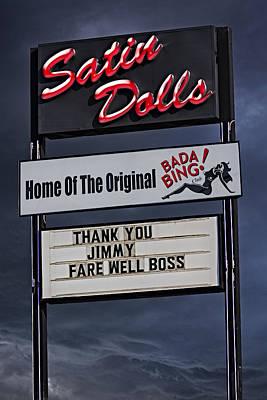 Farewell Boss Poster