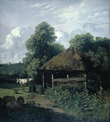 Farm Building In Gelderland, The Netherlands Poster