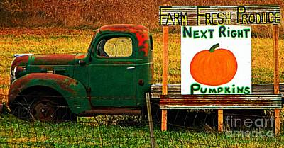 Farm Fresh Poster by Chris Berry