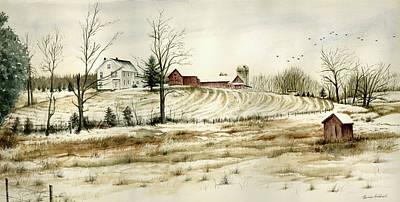 Farm On Belcher Road Poster by Tom Hedderich