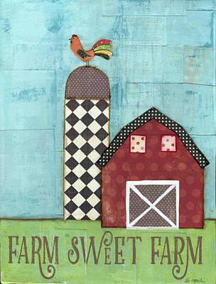 Farm Sweet Farm Poster by Alli Rogosich