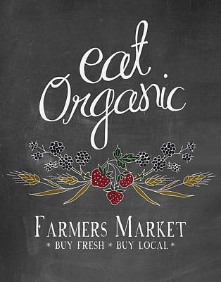 Farmers Market Poster by Amy Cummings