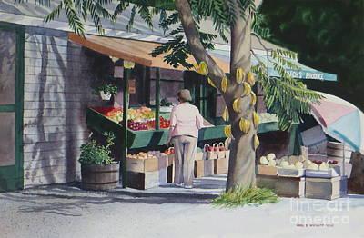 Farmer's Market Poster by Karol Wyckoff