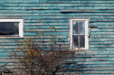 Farmhouse Windows Poster