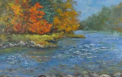 Farmington River Fall Poster