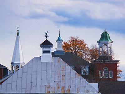 Farmington Rooftops Poster by Joy Nichols