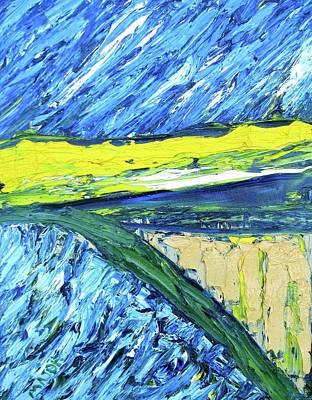 Farmland At Road One Thirteen Poster