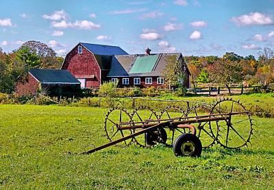 Farmland Poster by Janice Drew