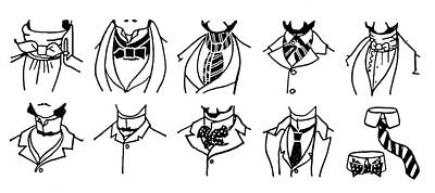 Fashion Cravats And Ties Poster