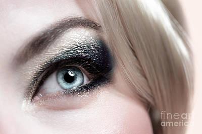 Fashionable Makeup Poster