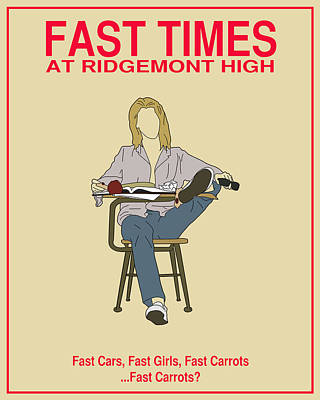 Fast Times At Ridgemont High Poster