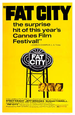Fat City, Us Poster Art, Center Poster