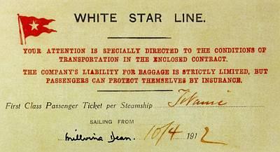 Fateful Ticket Poster