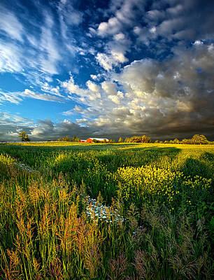 Fathers Day Poster by Phil Koch