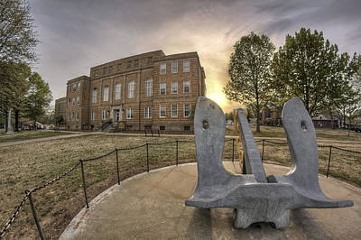 Faulkner County Courthouse - Anchor - Conway - Arkansas Poster by Jason Politte