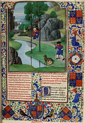 Faustulus Discovers Romulus And Remus Poster by British Library