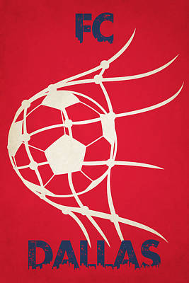 Fc Dallas Goal Poster by Joe Hamilton