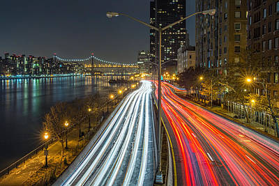 Fdr Drive Poster by Mike Orso