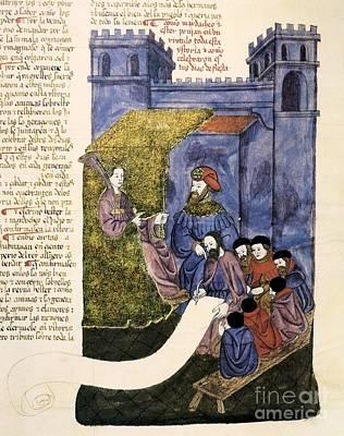 Feast Of Purim, 1430 Artwork Poster by Patrick Landmann