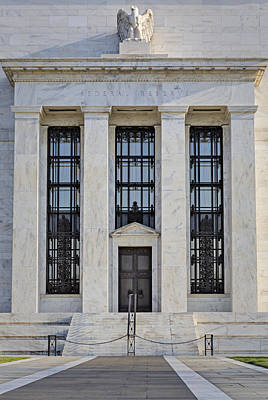 Federal Reserve Poster by Susan Candelario
