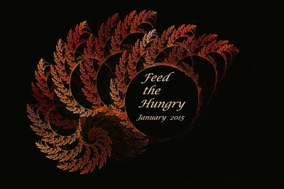 Feed The Hungry Jan 2015 Poster by Doug Morgan