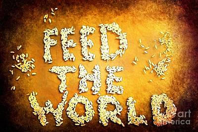 Feed The World Poster