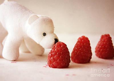 Feeding The Polar Bear I Poster
