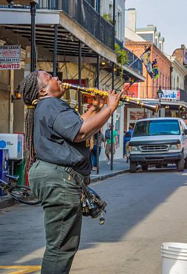 Feel It - Doreen's Jazz New Orleans  Poster by Steve Harrington