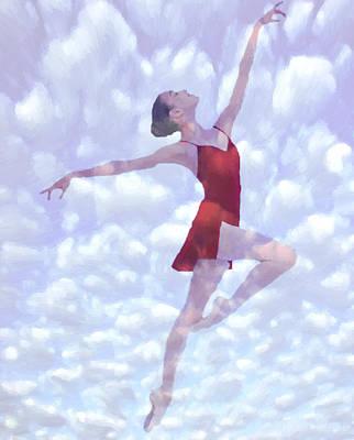 Feels Like Heaven Poster by Steve K
