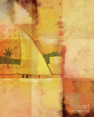 Felucca Impression Poster by Lutz Baar