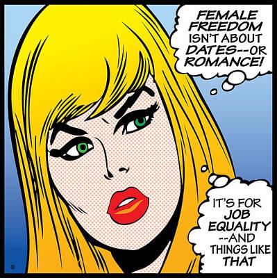 Female Freedom Poster