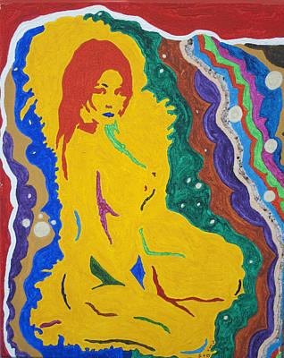 Nude Goddess Poster by Stormm Bradshaw