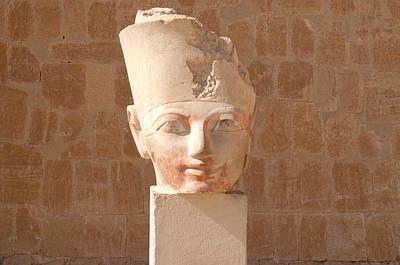 Female Pharoah Hatshepsut Poster by Brenda Kean