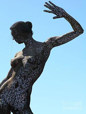 Female Sculpture On San Francisco Treasure Island 5d25339 Poster