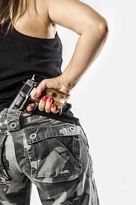 Feminin Agent Poster by Carlos Caetano