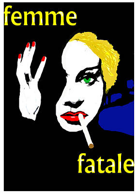 Femme Fatale Poster by Paul Sutcliffe
