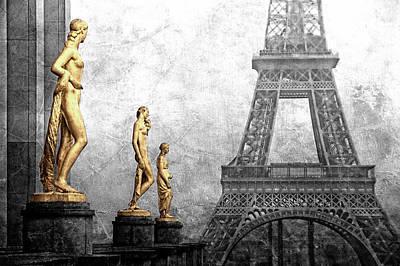 Femmes Parisiennes Poster by Joachim G Pinkawa