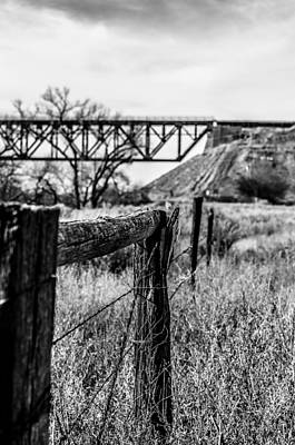 Fence Line Poster