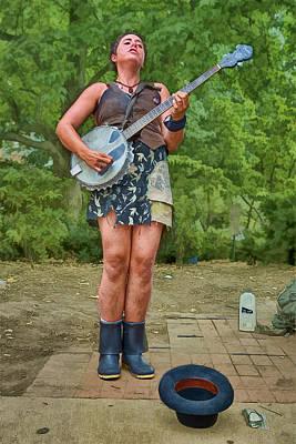 Fender Banjo Free Show Poster by John Haldane
