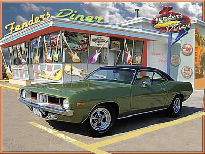 Fenders Diner Poster