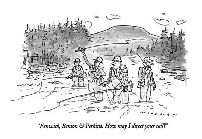 Fenwick, Benton & Perkins. How May I Direct Poster by Bill Woodman